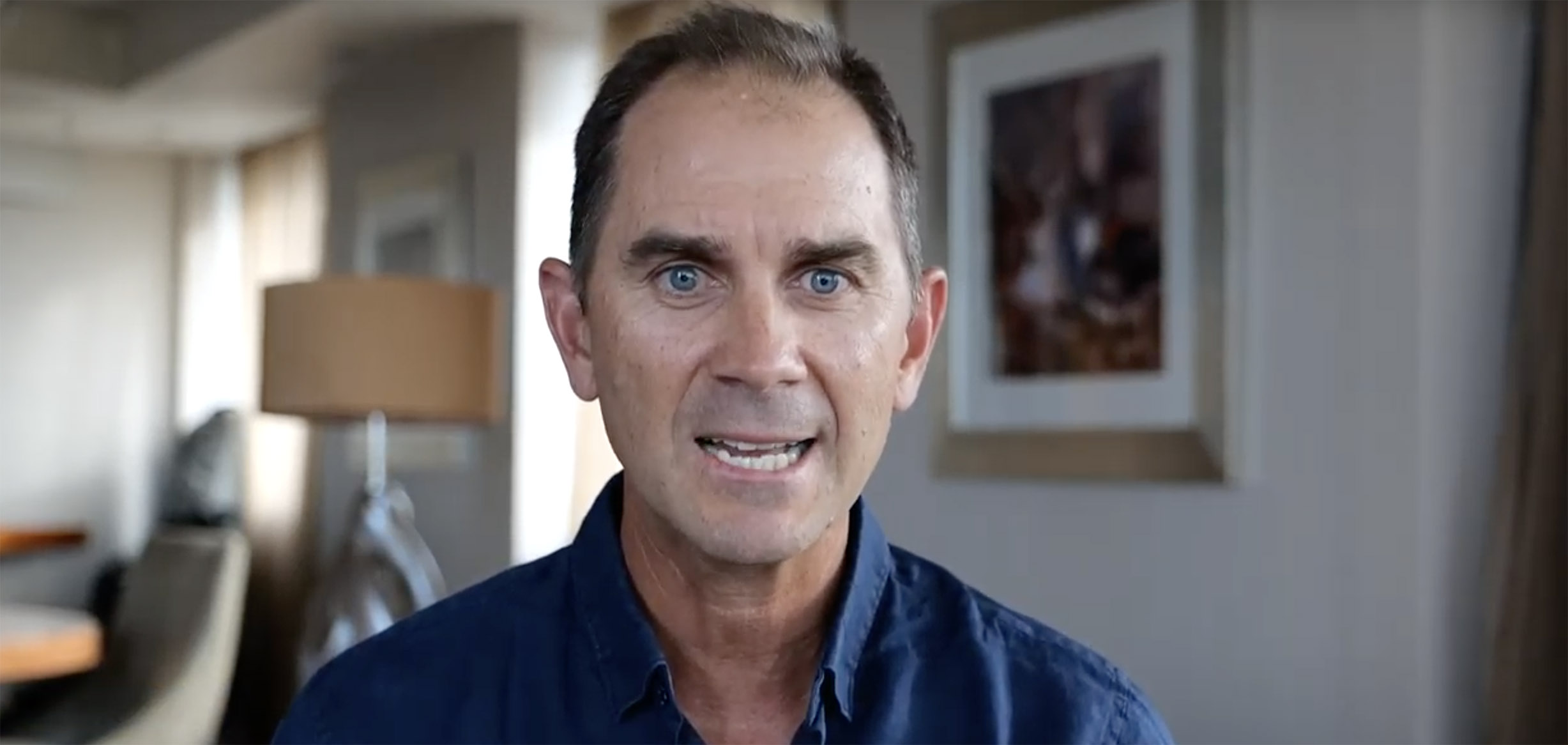 Justin Langer is proud to be an ambassador for Bravery Trust