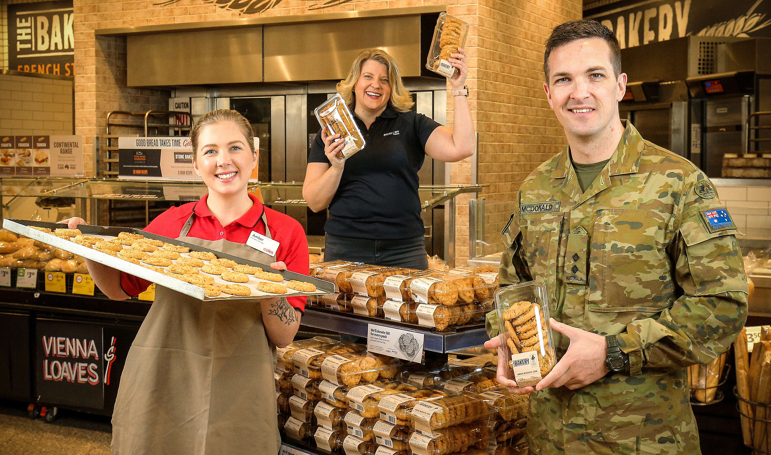 Bravery Trust partners with Coles
