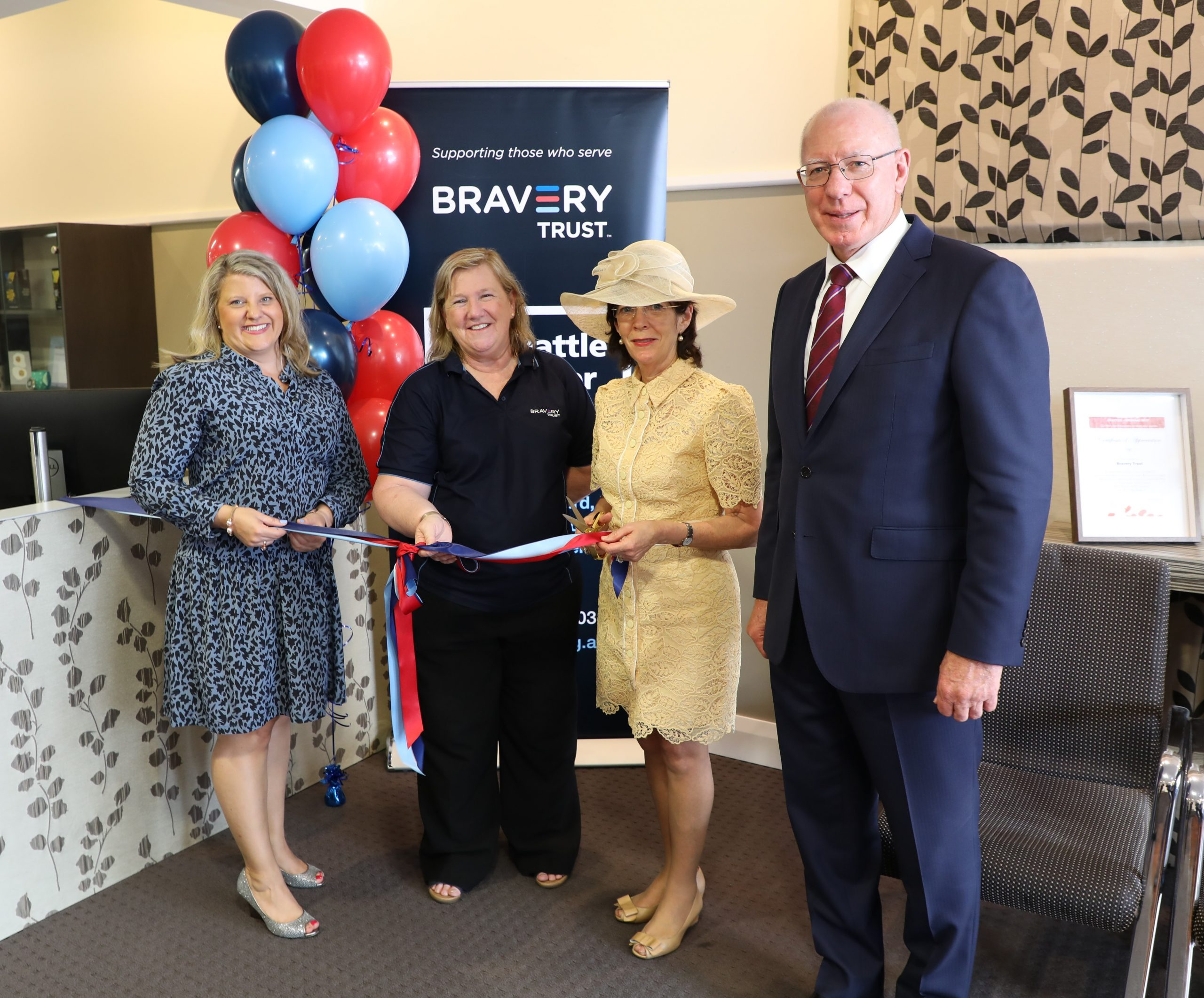 The Governor-General of Australia officially opens Camden office